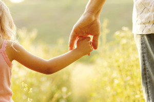 Family Law - Child Holding Dad's Hand